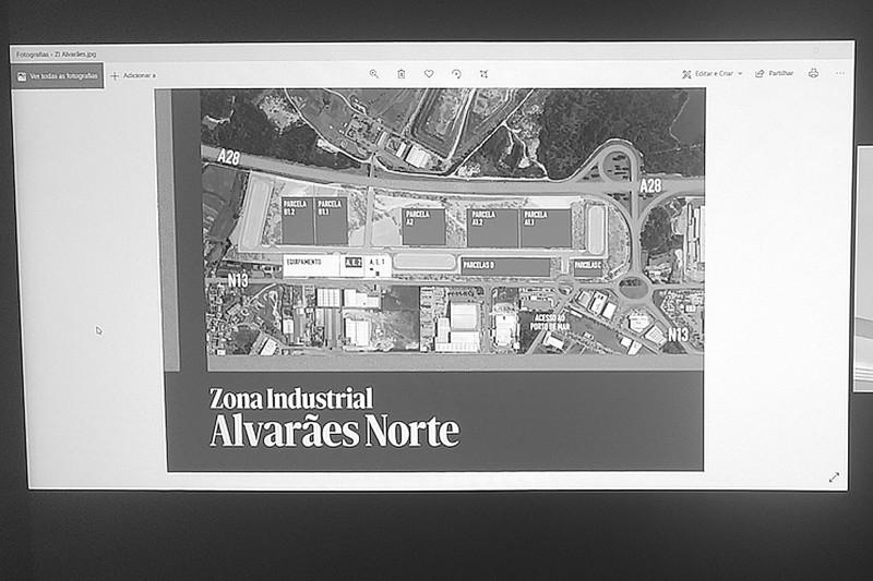 Zona industrial de Alvarães Norte vai criar mil empregos