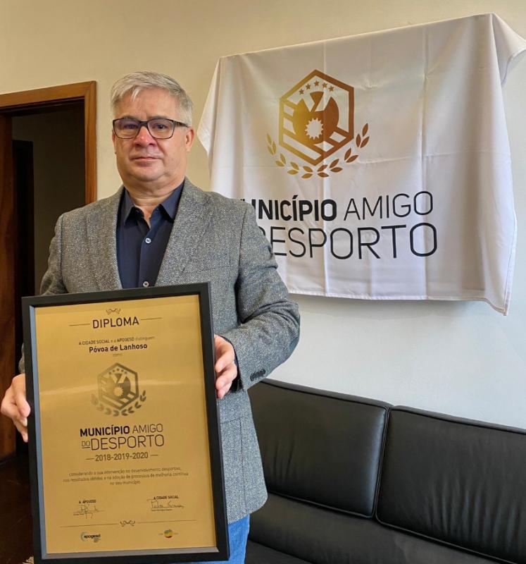 Póvoa de Lanhoso renovou galardão de Município Amigo do Desporto