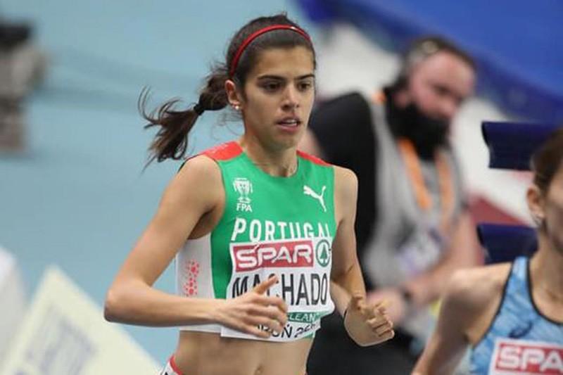 Mariana Machado sai em 11.º da primeira final sénior de um 'Europeu'