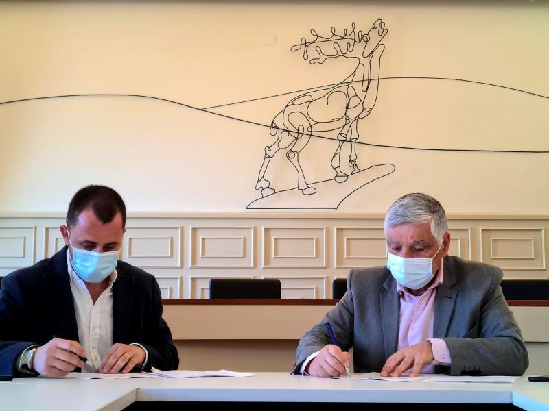 Cerveira formalizou contrato da empreitada do Edifício de Cultura e Inovação