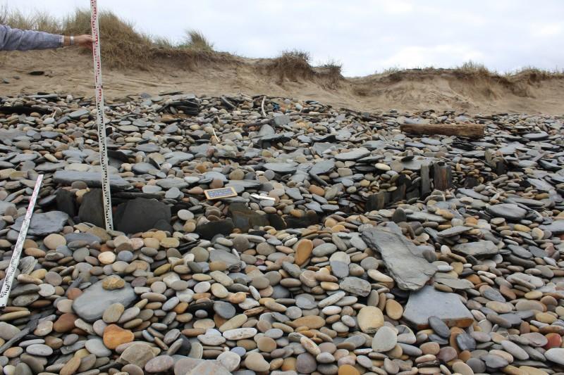 Esposende estuda vestígios arqueológicos detetados na praia de Guilheta