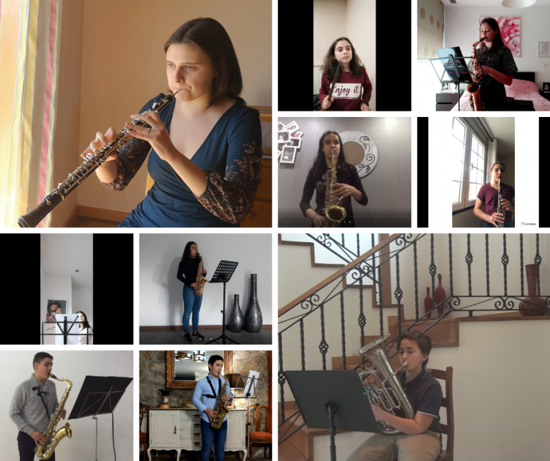 Escola de música promove audições via Zoom