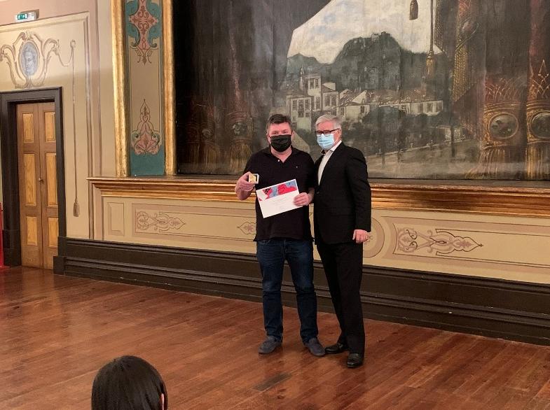 """Câmara Municipal da Póvoa de Lanhoso entregou prémios do Concurso """"Palavras de Amor"""""""