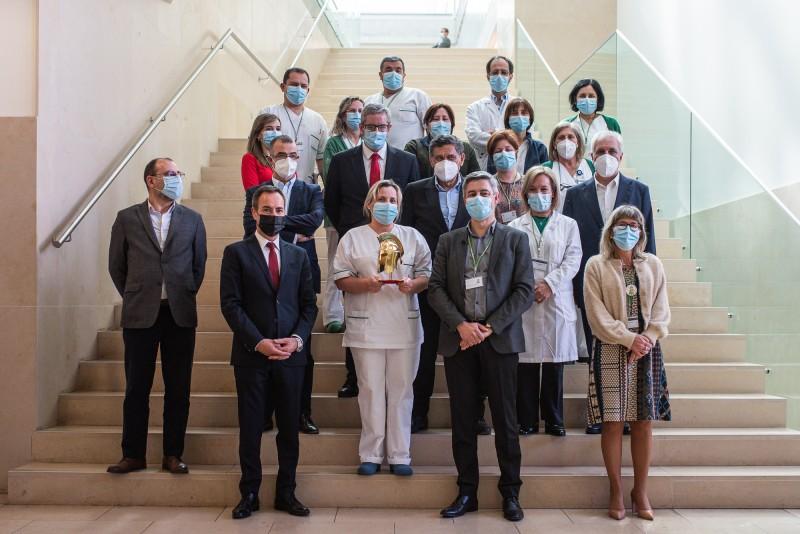 Hospital de Braga recebe prémio  de 'Guerreiro de Ouro e Mérito'