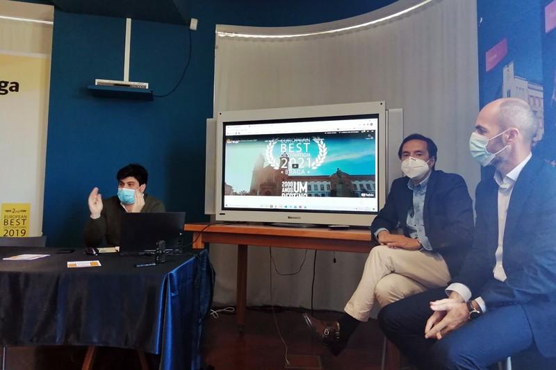'Virtual Tour' convida a uma viagem  pela Braga bimilenar e contemporânea