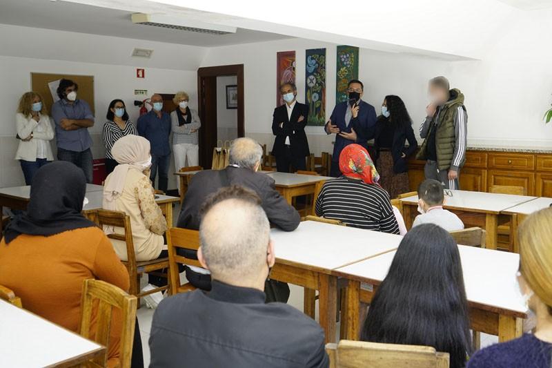 Refugiados da Síria e Iraque acolhidos em Fão