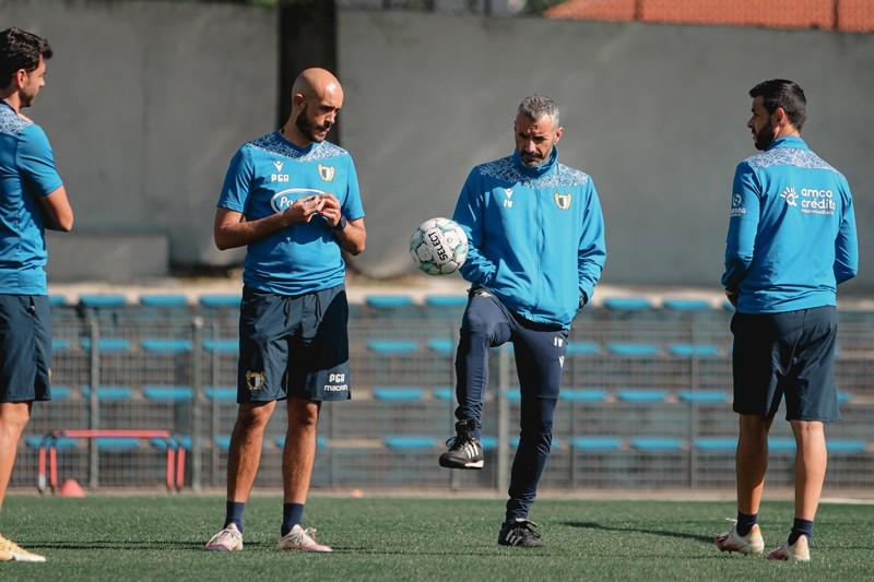 """Ivo Vieira: """"Temos mesmo que amealhar pontos"""""""