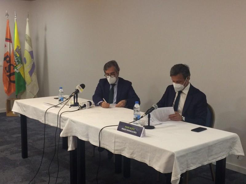 Coligação PSD - CDS/PP volta a unir forças para disputar autárquicas em Famalicão