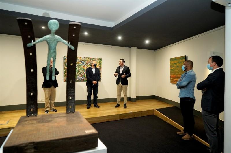 Esposende inaugurou polo de exposição da 4.ª Bienal Internacional de Artes de Gaia