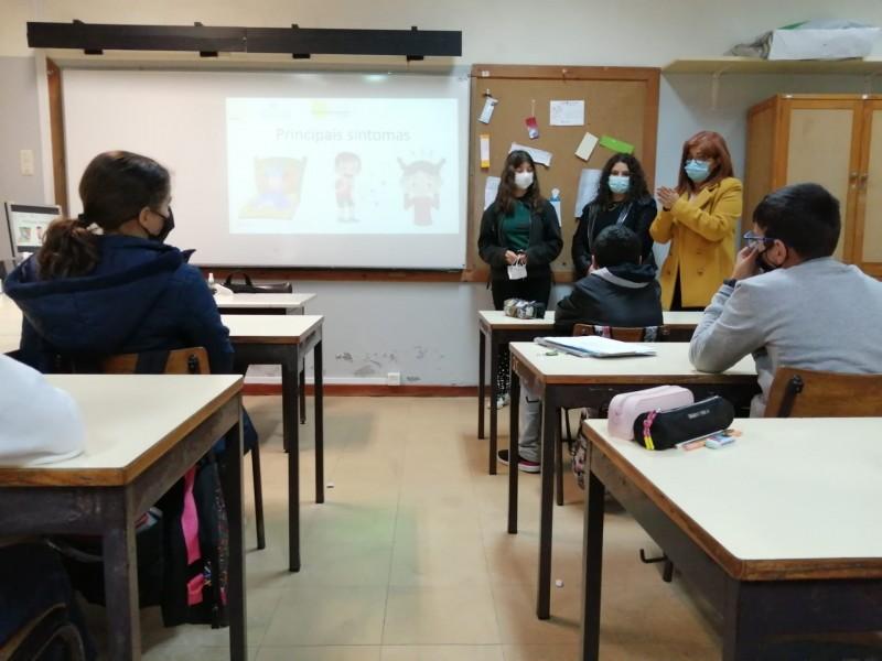 Esposende: Projeto Rumo ao Sucesso sensibiliza alunos para uso da máscara