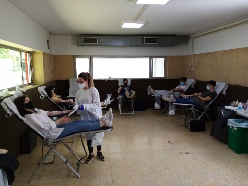 Estudantes da AAUMinho doam sangue por solidariedade