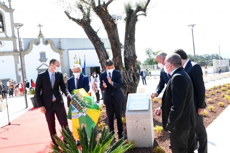Zona central de Gavião ganha nova imagem com requalificação do adro da Igreja