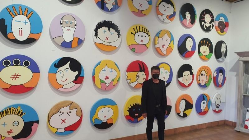 Arte de Mario Louro revelada nos Biscainhos