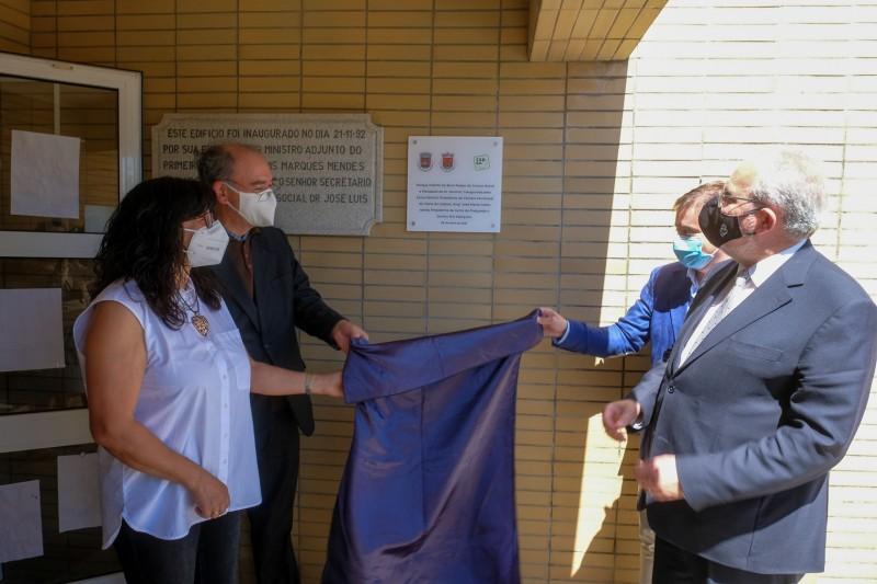 Executivo visitou Areosa para inauguração de parque infantil e da sede do Agrupamento 343 Senhor do Socorro
