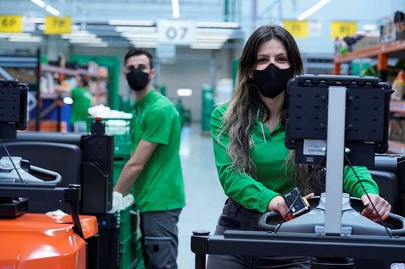 Mercadona investe 5 ME por ano em máscaras para a sua equipa