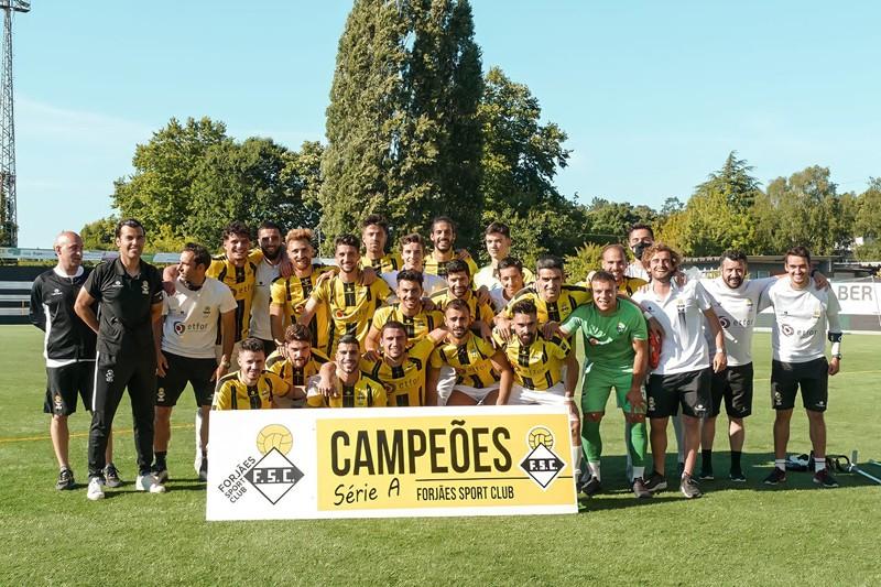 Forjães campeão da Série A