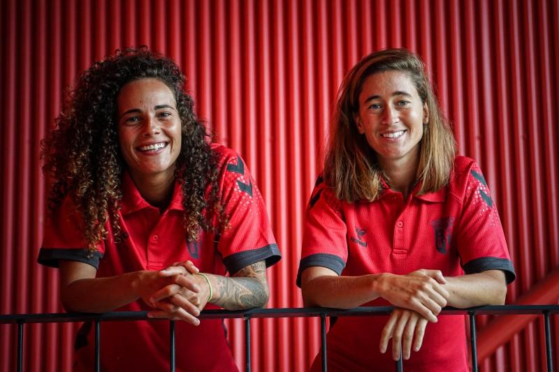 Patrícia Morais e Carolina Mendes estão confirmadas no SC Braga