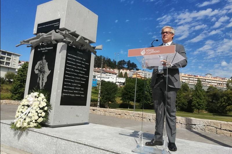 Memorial presta tributo aos heróis povoenses na guerra