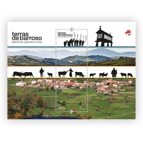 CTT apresentam selos sobre Terras de Barroso