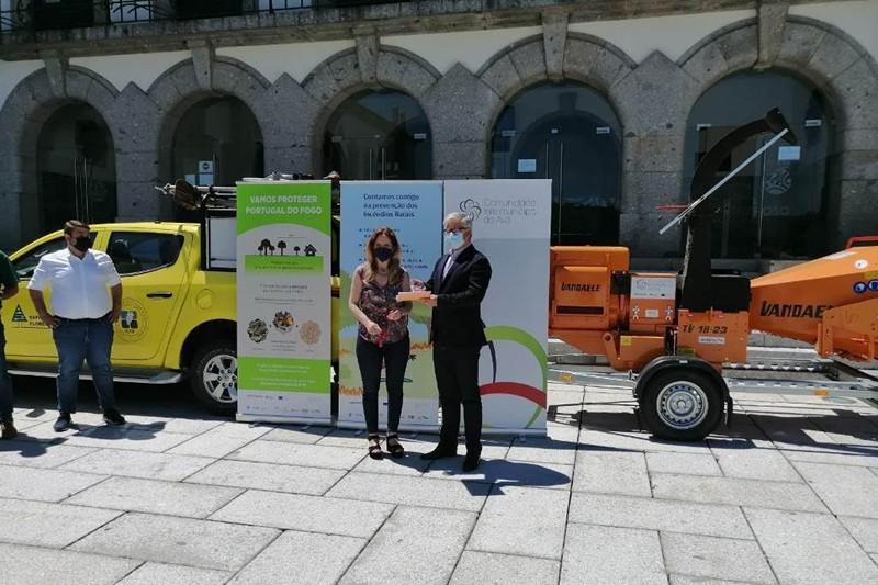 """Biotriturador """"é uma mais-valia"""" para a prevenção de incêndios"""