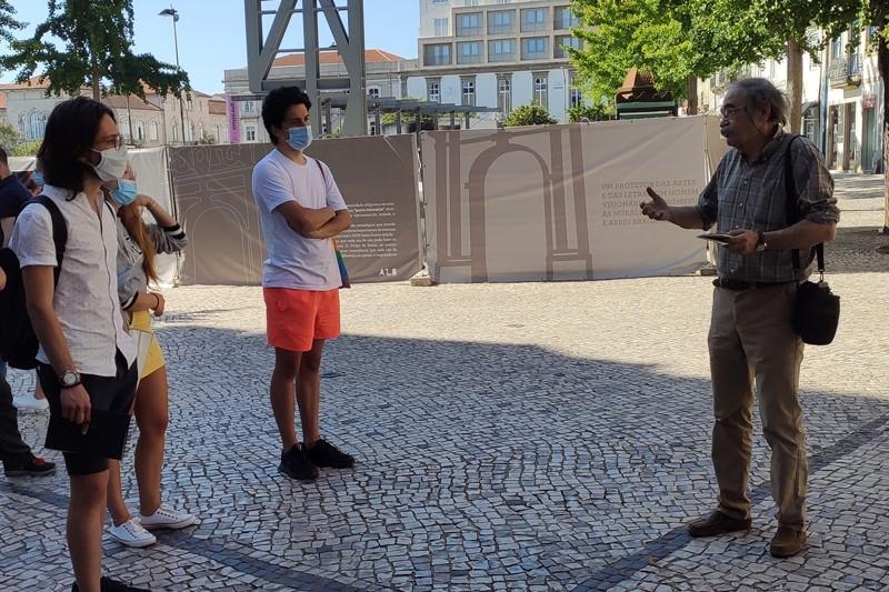 Visita pedonal leva alunos por lugares do poder  e da resistência em Braga