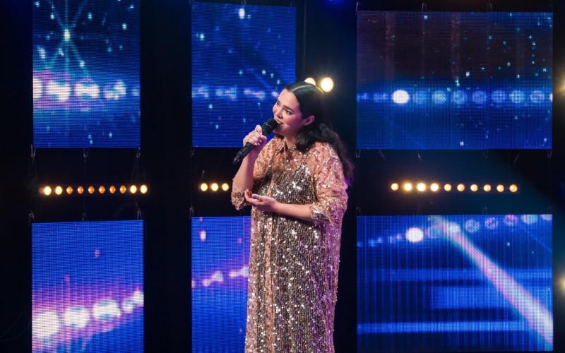 Sílvia Pinto nas semi-finais do 'Got Talent Portugal'