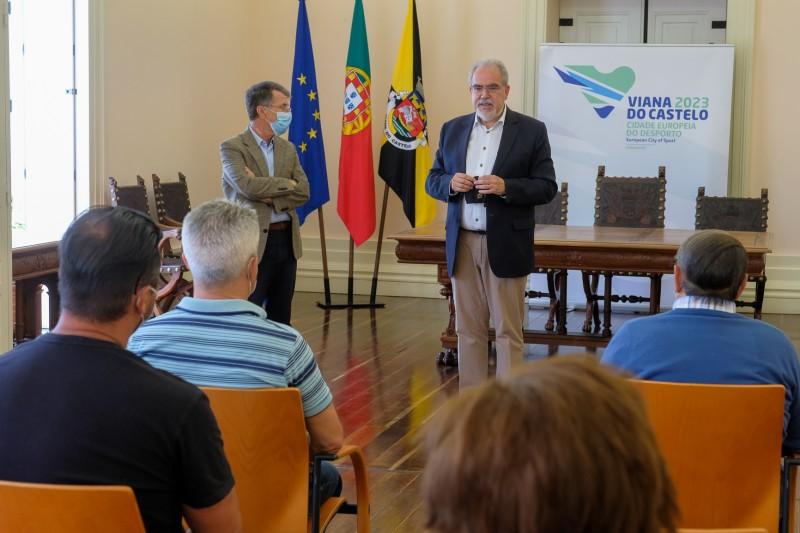Protocolos no valor global de 125 mil euros para qualificar parque desportivo do concelho