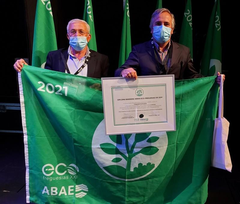 Gualtar hasteia bandeira 'Eco-Freguesia XXI'