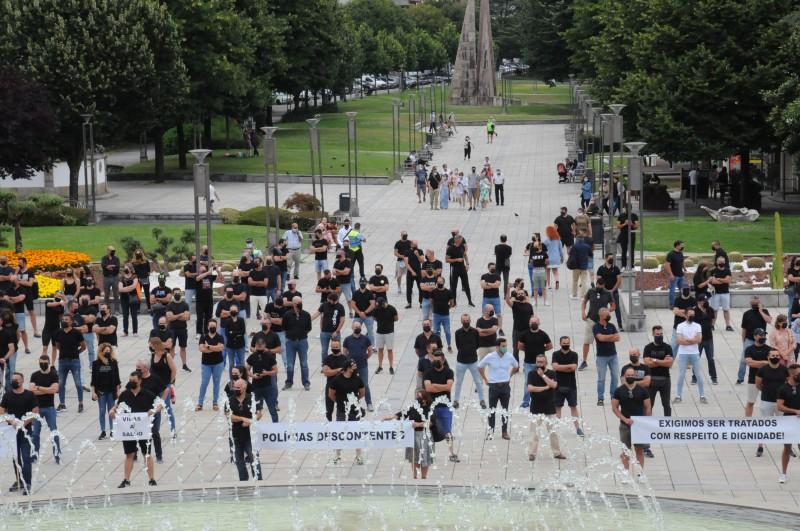 Polícias e militares da GNR exigem Subsídio de Risco de 430 euros