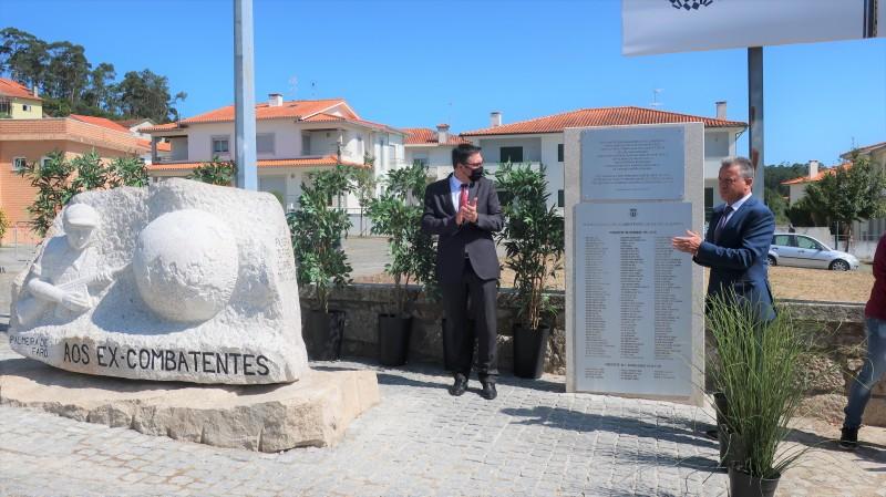 Esposende: Inaugurado monumento aos combatentes