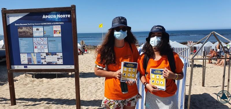 Esposende: Acções de sensibilização nas praias para cumprimento das regras