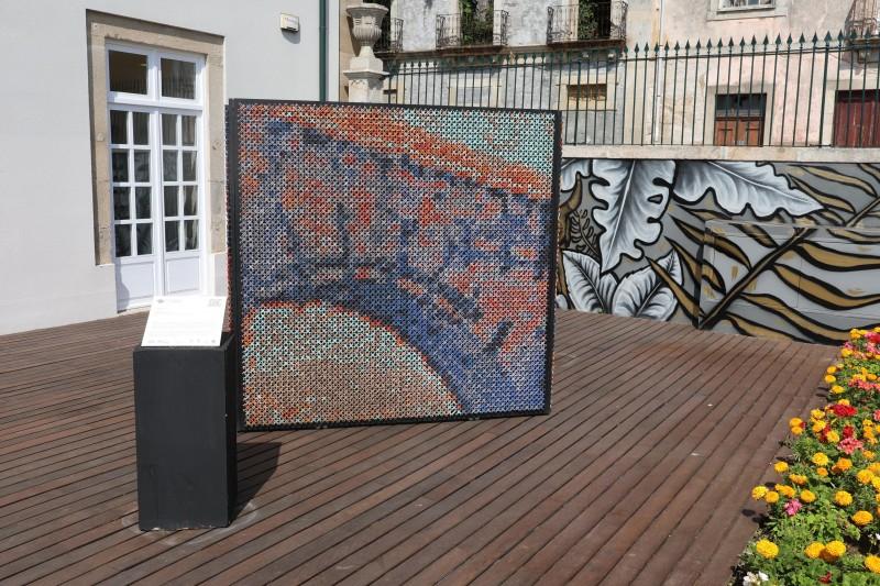 Barcelos recebe uma peça artística do Quadrilátero Cultural