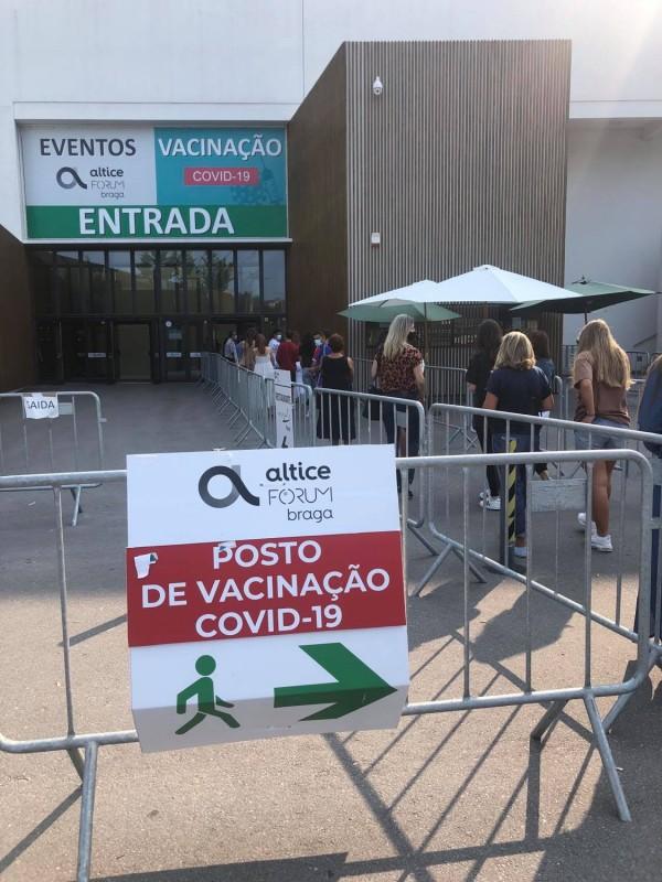 Centro de vacinação do Altice Forum aberto  até final de Setembro
