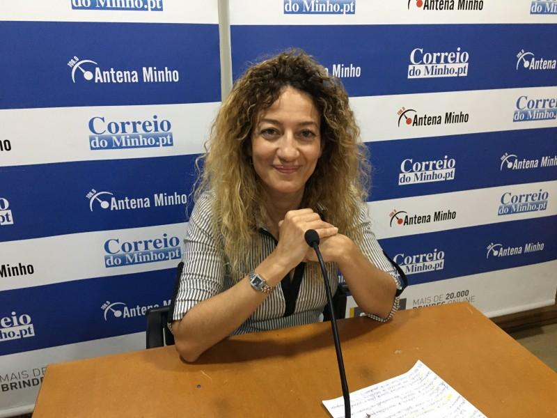 """Eugénia Santos: """"Estou com imensa vontade  de fazer mais pelos bracarenses"""""""
