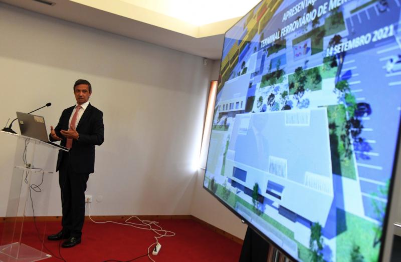 Terminal Ferroviário de Lousado deverá ficar pronto até ao final de 2022 e vai criar 45 postos de trabalho diretos
