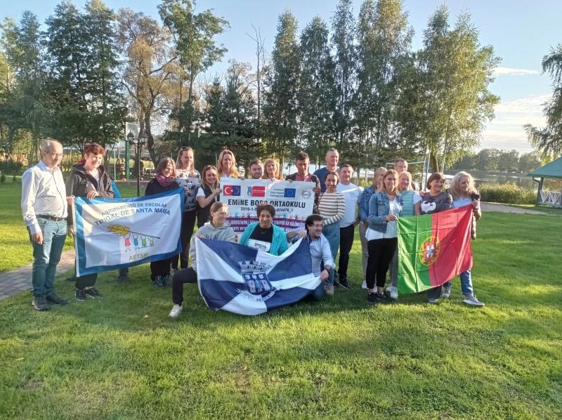 Agrupamento de Escolas Trigal Santa Maria: Boas práticas partilhadas  na Lituânia