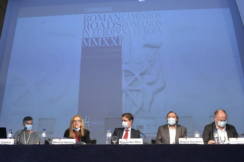 """I Seminário """"Roman Roads in Europe"""" iniciou-se hoje no Museu de Arqueologia D. Diogo de Sousa"""