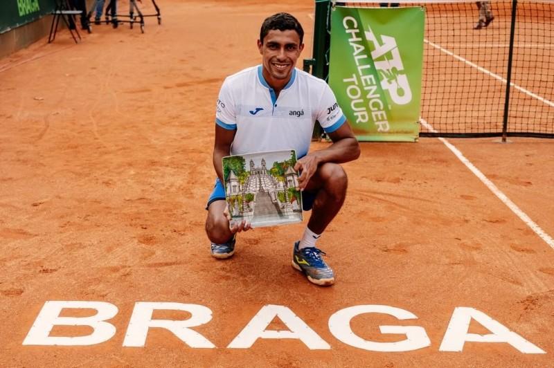 Thiago Monteiro é o novo campeão do Braga Open