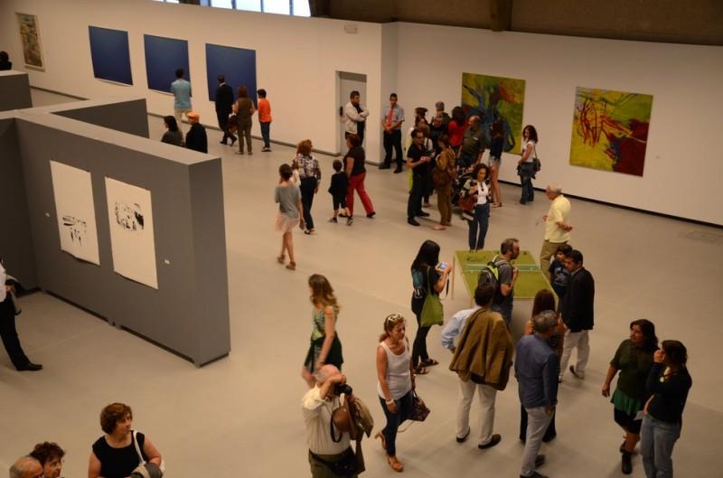 Vila Nova de Cerveira: Trabalhos dos Novos Artistas expostos