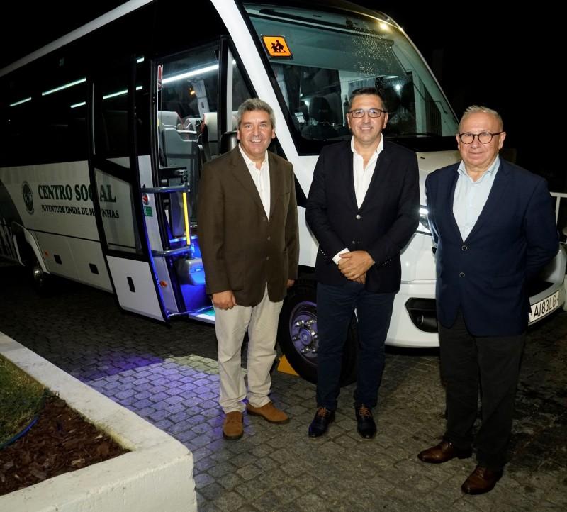 Câmara apoia novo autocarro para a JUM