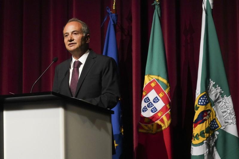 Domingos Bragança toma posse para o mandato 2021-2025 como Presidente do Município de Guimarães