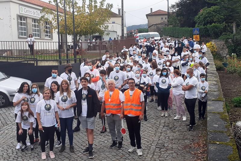 Caminhada solidária uniu Veiga de Penso