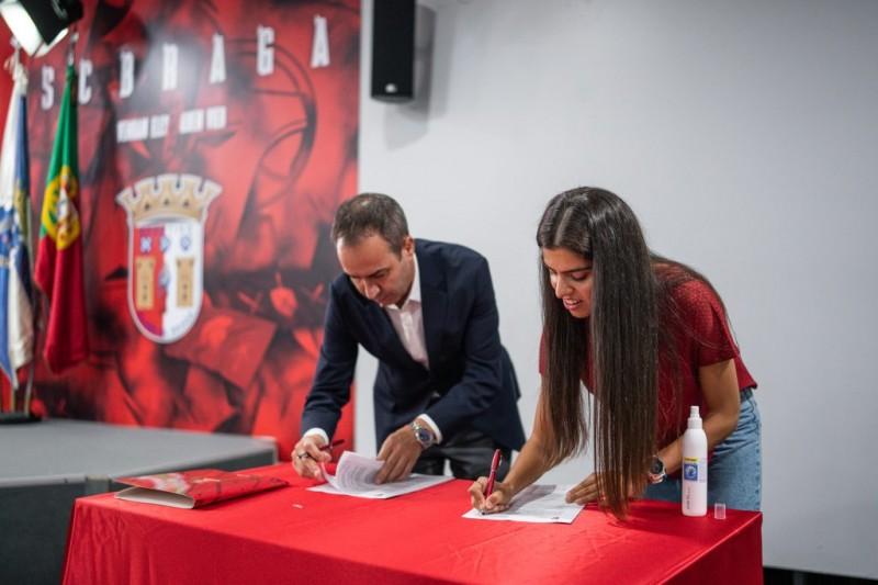 SC Braga renova com Mariana até 2024