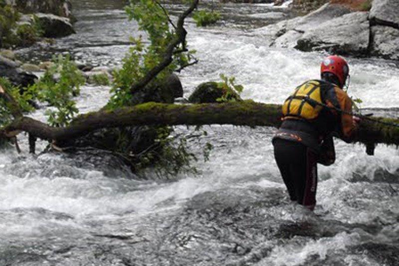 Canoagem fatal no Rio Vez