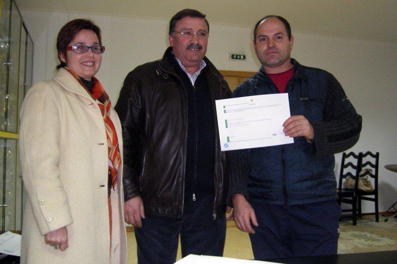 Junta de Celeirós entrega diplomas de certificação