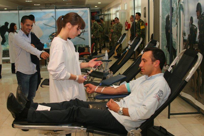 Militares na batalha do sangue