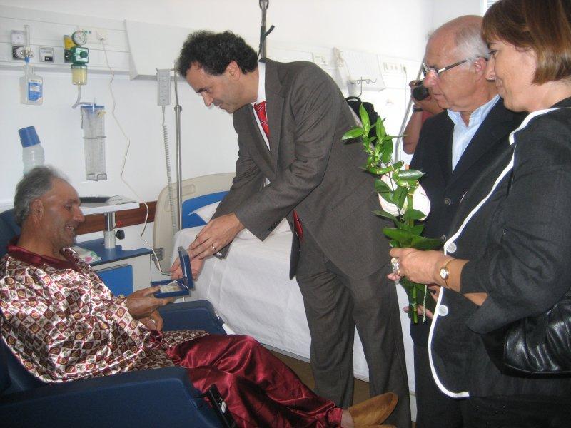 Cabeceriras: Unidade de Internamento já recebe doentes