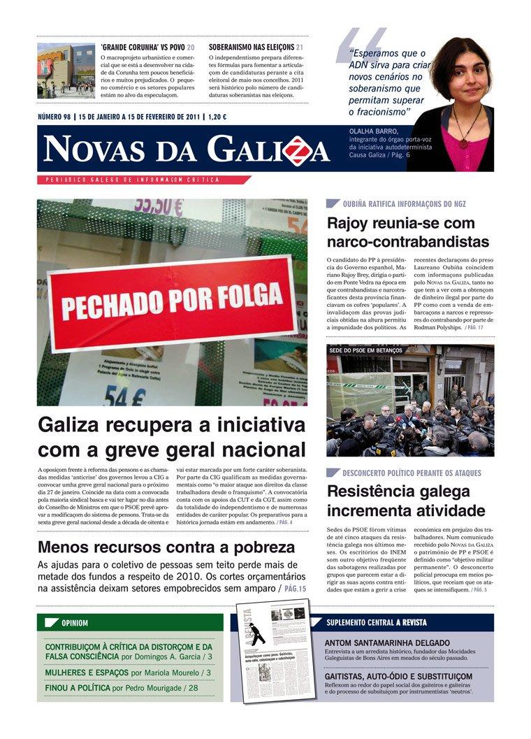 Língua: Jornal galego aplica novo acordo ortográfico da língua portuguesa