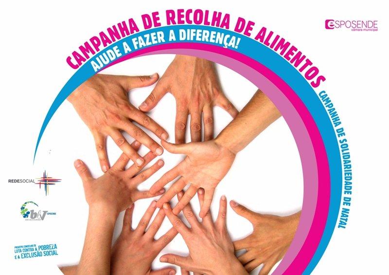 Esposende promove campanha de recolha de alimentos para famílias carenciadas