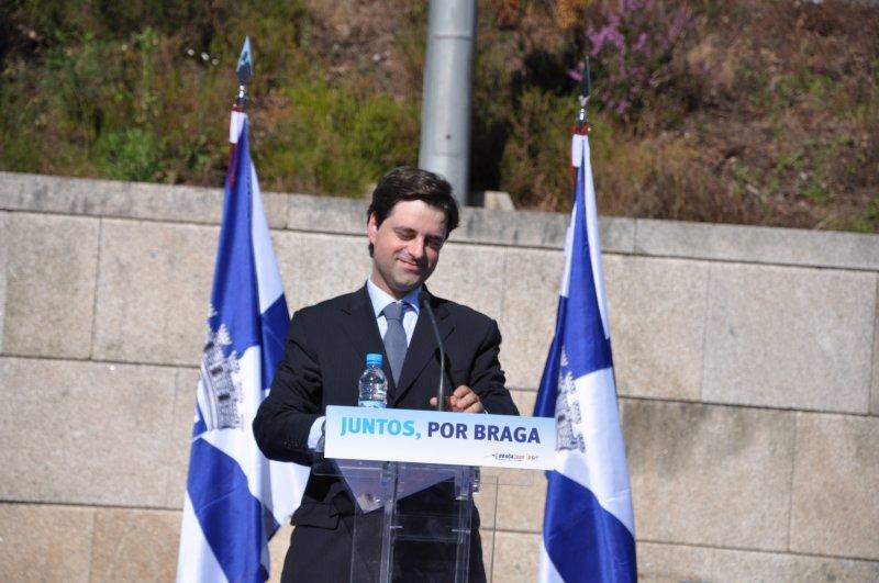 Ricardo Rio quer alargar coligação 'Juntos por Braga' a Iniciativa Liberal e Aliança